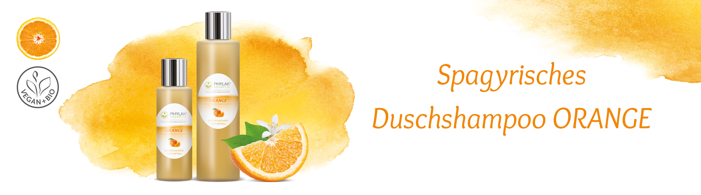 Spagyrisches Duschshampoo ORANGE